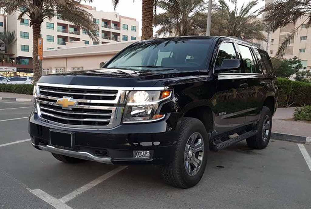 Hire Chevrolet Tahoe with Chauffeur in Dubai