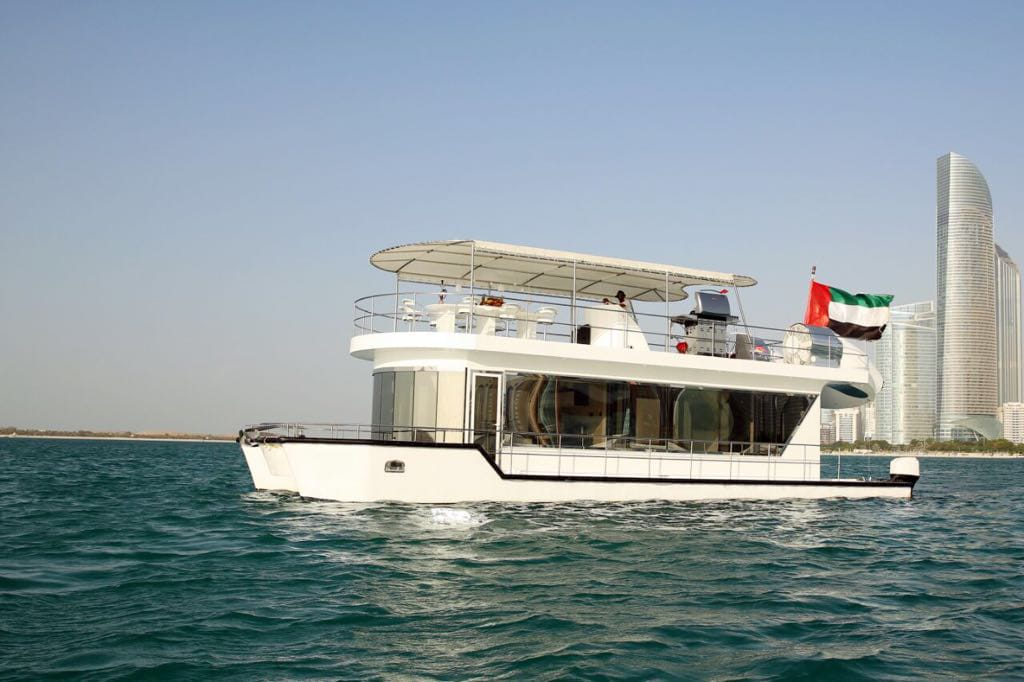 Cruise on the House Boat  in Dubai