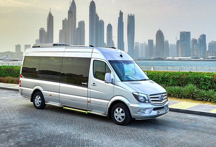 Hire Mercedes-Benz Sprinter with chauffeur in Dubai